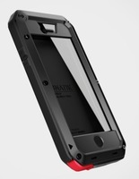 Free shipping  Taktik Extreme case with gorilla glass cover For iPhone 4  iphone4s Luxury Water/Dirt/Shock Proof  Wholesale