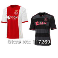 AJAX Jersey  2013 2014  De Jong Jersey Home Away  Best Thailand Quality AJAX Shirt Soccer Kit Football Soccer Uniform