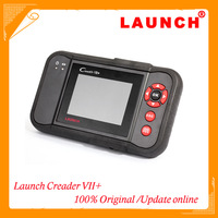 Top 2014 Free Shipping Newest Super Auto Code Scanner Launch Creader VII+ Creader 7+=CReader Professional CRP123 Launch CRP123
