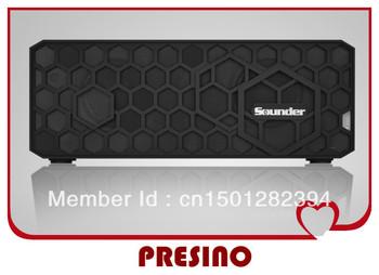 Free Shipping Sounder 2013 New Bluetooth Speaker Portable Stereo Mini Hifi Wireless Challenger for Jam Box USB