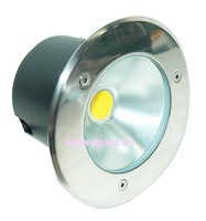 IP67,7W COB underground light,7W COB inground lght, Diameter 150mm, 110-250VAC,DS-11A-D150-7W