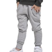 boys harem pants fashion korean style 100 cotton kids casual pants full length trendy elastic waist