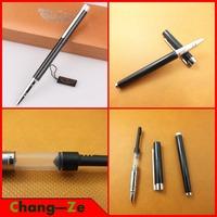Priced at wholesale, hero pen genuine, 1063 Accounting ultrafine iridium-point pen matte, dark tip calligraphy pen, 0.38mm