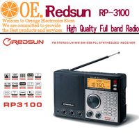 Presell Fedex Free shipping REDSUN RP3100 PLL AM FM SW DUAL CONVERSION Digital RADIO STATION iREDSUN RP-2100 wholesale/Retail