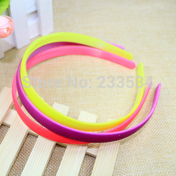 6 pieces/lot ABS plastic headband with teeth cheap kids hair accessories children hairbands