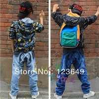 2014 New Arrival Fashion Cute Mickey Mouse Long Pants Jeans Trousers for Children Boys Girls Kids Children's Clothing kz1044