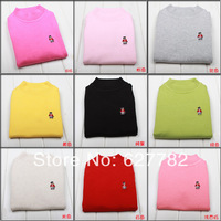 Free shipping The Newest! Autumn, Winter, 8 colours, Children clothing, boys sweater, girls Sweater Size :2-7T MBN680