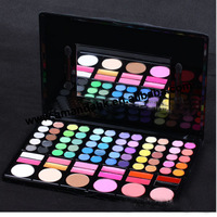 2013 New 78 Color Makeup Eyeshadow Blusher Palette 24pcs/lot Eye Shadow