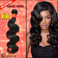 "Mixed lengths 4pcs/lot brazilian virgin hair extensions 100% unprocessed human Body wave 10-30"" natural color DHL free shipping"