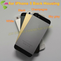 1 piece  Fashion Color to Make Your Phone Like 5S for  5 5G Battery Cover Housing with Sim Card Tray+ 3pcs Buttons