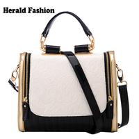 Bunny Bags Printing Color Block Women's Handbag Vintage Fashion Shoulder Bag Cross-body Bag For Women Tote Bolsas Femininas