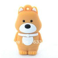 Cute Puppy Cartoon dog gift funny animal usb flash  Lovely Dog  custom promotional animal usb stick4GB 8GB 16GB  Free Shipping
