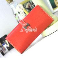 Classic Faux Leather Bifold Card Holder Clutch Handbag Purse Wallet 13 Colors