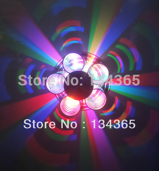 LED RGB wall decoration 3W bedroom wall fittings/wall lamp INDOOR HALL CABINET FIXTURE LIGHT BULB LAMP KTV BAR PUB Cafe shop