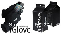9 Colors!1Pair IGlove Unisex Capacitive Touch Screen Glove for iPhone 5S 6 iPad 4 mini Winter Glove Large Size with Track Number