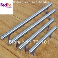 Lot Of 50  (C.C.:64mm,Length:100mm D:12mm)  Drawer Pulls Brush Nickel Kitchen Cabinet T Pull Handle knob