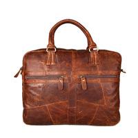 2014 New Vintage Large Leather Travel Bags For Men Genuine Leather Shoulder Messenger Bag Man Briefcase Travel Organizer Bag
