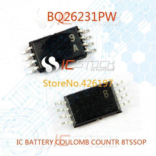 BQ26231PW IC BATTERY COULOMB COUNTR 8TSSOP 26231 BQ26231 3pcs(China (Mainland))