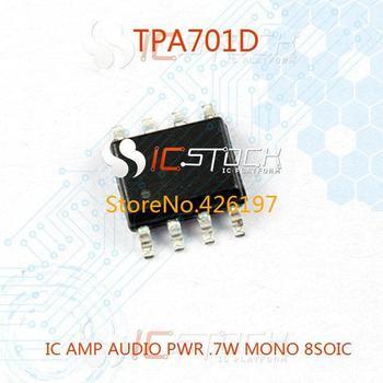TPA701D IC AMP AUDIO PWR .7W MONO 8SOIC 701 TPA701 3pcs
