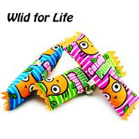 Wholesale 3pcs/lot Cute Candy Design Durable Catnip Pillows 28cm x 8cm x 6cm Cat Toys