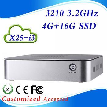 linux mini pc pc mini hdmi android mini pc X25-i3 4G RAM 16G SSD Keyboard,Mouse,Mic,Wholesale!