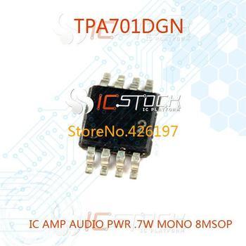 TPA701DGN IC AMP AUDIO PWR .7W MONO 8MSOP 701 TPA701 3pcs