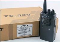 DHL Freeshipping+Hytera HYT TC-500 uhf long distance walkie talkie two way radio hyt tc500 with talk range 10km