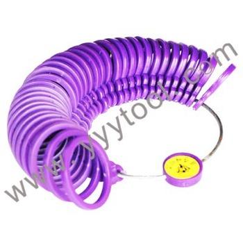 free shipping ring gauge #3-13# US ring sizer tools plastic ring measurement circles hands tool 10pcs/set free shipping