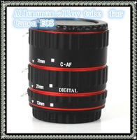 Macro Extension Tube Set 13/21/31mm for Canon EOS focus EF/EF-S Lens TTL AF digital camera free shipping
