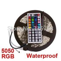 DC 12V rgb led strip 5050 waterproof white 5m 300 leds smd 5050 60led /m warm white rgb flexible strip light for car lcd s1