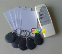 125Khz Mini Handheld  RFID Copier Duplicator  Cloner  + 10pcs Writable cards & keyfobs