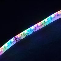 NEW RGB COLOR SMD 335 LED Strip Light DC12V 5M Glue Waterproof IP65 120leds/m 600leds Totally Side Emitting Lighting