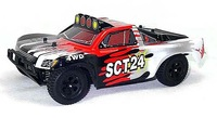 HSP RC cars 1/24th 1 24 Scale RC Electric Powered Short Truck 94247 with 2.4G Radio Control TOYS