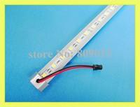 LED rigid strip light LED light bar cabinet light jewelry light SMD 5050 LED hard strip DC12V 100cm 60 led SMD5050 free shipping