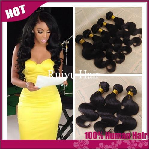 "Rosa hair products peruvian virgin hair body wave 3pcs lot,peruvian hair weaves 8""-30"" cheap remy human hair extension very soft(China (Mainland))"