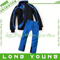 New 2013 waterproof sportswear jacket men  snowsuit clothing sets  men's sport suits  men's ski suit snowboard jacket with pants