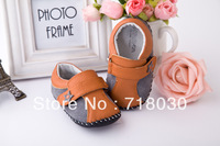HOT brand baby shoes baby perwalker shoes first walkers infant unisex Genuine leather Soft bottom shoes free shipping 1016