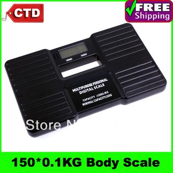150 X 0.1 kg Multipurpose Personal Digital Body Scale