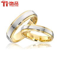 Free Shipping and Free Engrave Customize Super Deal Ring Size 3-12.5 Titanium Woman Man's wedding Rings Couple Rings
