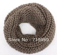 New hot! Unisex Winter knitting Wool Collar Neck Warmer Ring Scarf Shawl