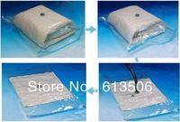 2pcs/lot Retail packing Vacuum storage bag for Clothes vacuum package wholesale drop shipping