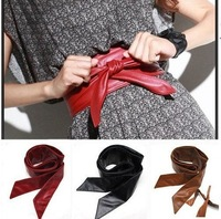 Free shiping,2013 new Lady bowknot belt bind wide belt,15 Colors for choose,retail and wholesale YF01