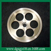 Preheater HIgh Precision  Copper Guide  Pulley  For Extruding Machine