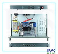 High cost-effective 1U router / firewall server with Atom D525,6*Intel 82583V 1000mbps Lan MB ,2GB RAM,8GB SLC CF card,120W PSU
