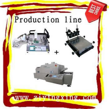 110V~220V 50HZ surface mount system/chip mounter/desktop pick and place machine,TM220A,SMT,2 heads,16 feeders,portable,0402SOP