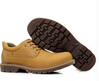 Free delivery 2013 new fall the bulk of men's leather casual men's shoes outdoor shoes