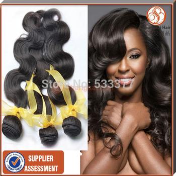 "AAAAA Unprocessed Malaysian Wavy Hair Mixed Lenght  12""-26"" Cheap 5A Malaysian virgin Hair 5pcs lot 50G/PCS Body Wave"