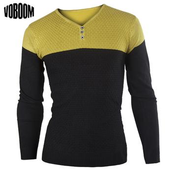Мужская одежда весна 2014 новых людей свитера качество кардиган мужчины двухцветное мужская длинные рукава трикотаж, 3 цветов пуловеры M-XXL