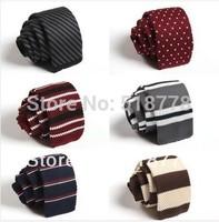 100Colors! Mens Knitting Ties Wedding Party Dress Ties Gifts For Men Necktie Gravatas Masculina Corbata Butterfly Brand Man Ties