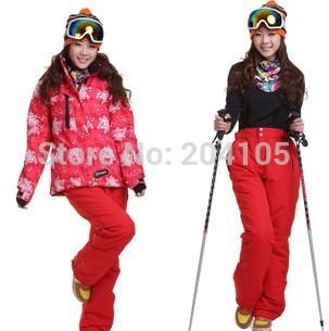 Новый зимний женщины лыжный костюм на открытом воздухе ...